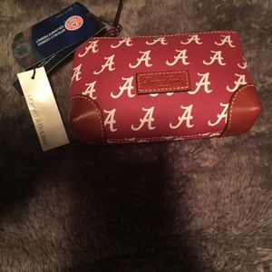 Dooney & Bourke small Alabama make up bag